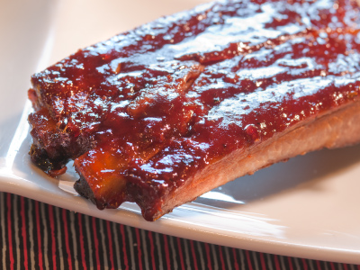 Blackberry Jalapeno BBQ St. Louis Spare Ribs